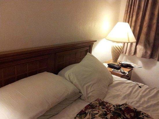 El Ray Motel : Bed, nightstand