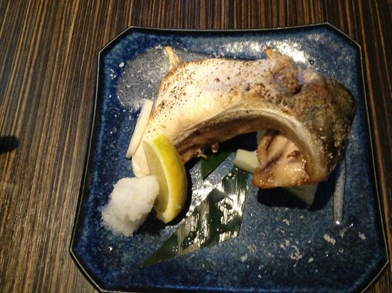 Hamachi Fish Collar Picture Of Kiriri Japanese Cuisine Sushi Bar