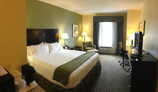 Holiday Inn Express Hotel & Suites Saint Augustine North: Clean & Comfy King Room