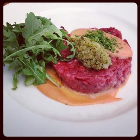 Restaurant L'insensé : beef tartar