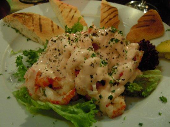 Italian Diva: Crayfish salad starter