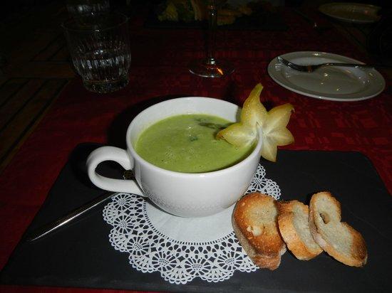 Cafe de Paris : Asparagus Soup