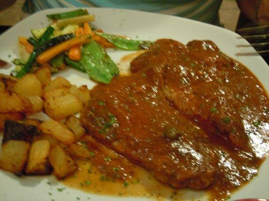 Italian Diva: Veal sans anchovies?