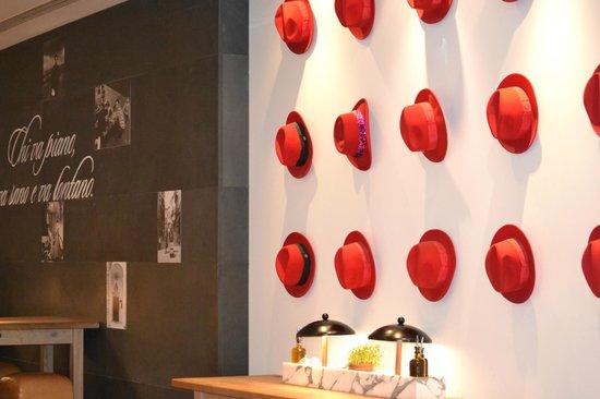 Vapiano: buena decoracion