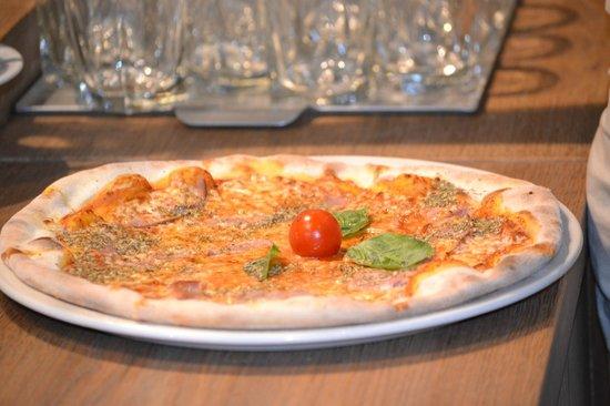 Vapiano: pizza muy rica