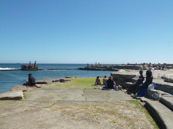 Hotel Sao Mamede : Пляж в бассейне на пляже