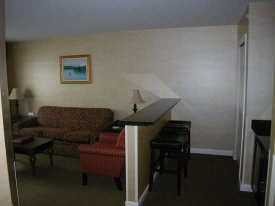 BEST WESTERN PLUS Vineyard Inn & Suites: Another view of living room area
