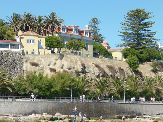 Hotel Sao Mamede: Вид с пляжа