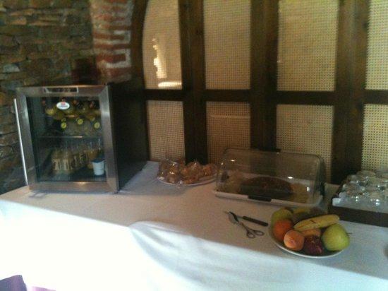 Hotel GIT Abentofail: Parte del Buffet