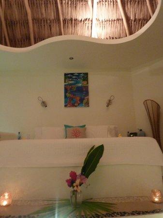 Seaside Cabanas: our beautiful honeymoon room