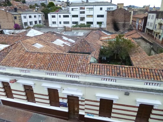 Hotel Casa Deco: View from the terrace of the rooftops of Candelaria
