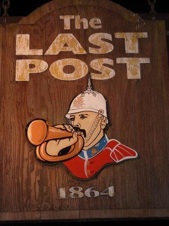 The Last Post Pub Restaurant: Sign