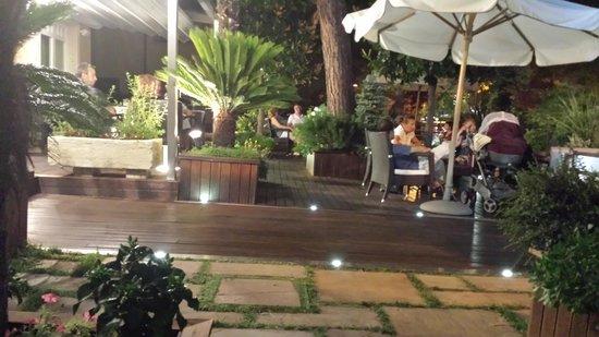 Hotel Rosenblatt: tranquillità serale