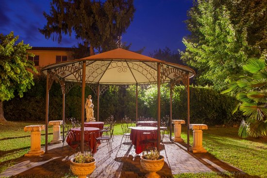Hotel Villa Foscarini: Pergola