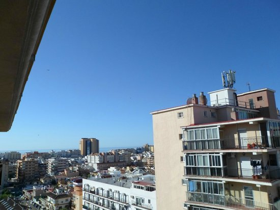 Mediterraneo Real Aparthotel: View from the room in the morning
