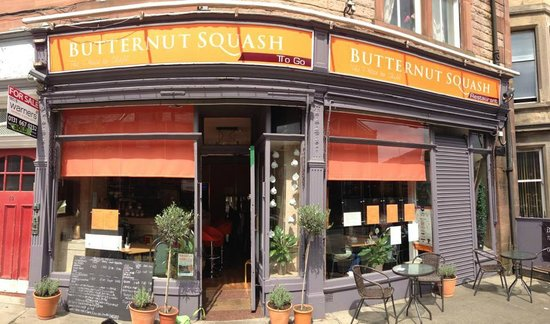 Butternut Squash: The lovely PortoBello's Place to eat at near the beach