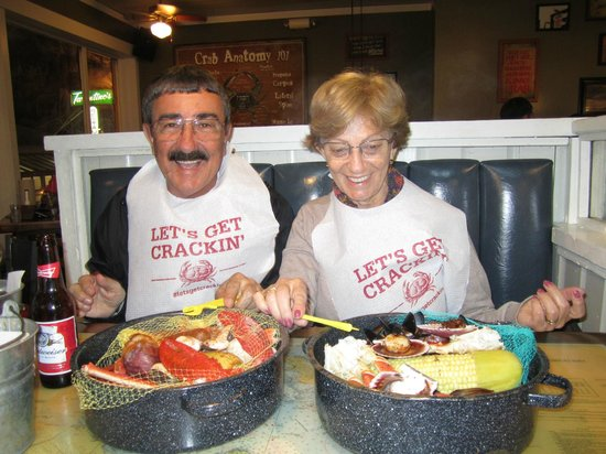 Joe's Crab Shack : Hummm!!! Estava muito bom!!!