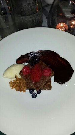 Rosas & Xocolate Boutique Hotel & Spa: Brownie de Chocolate