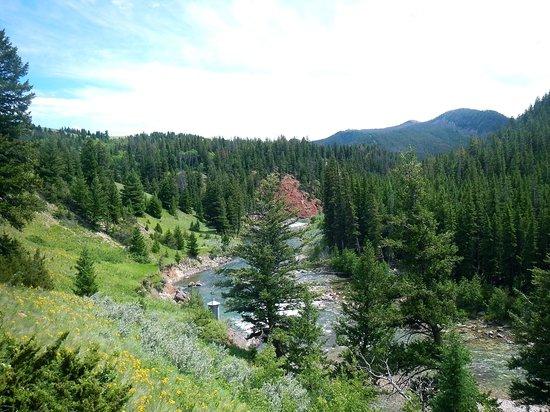 JJJ Wilderness Ranch: north fork of sun in Bob Marshall