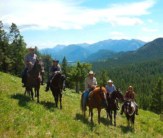 JJJ Wilderness Ranch: typical scenery on ride