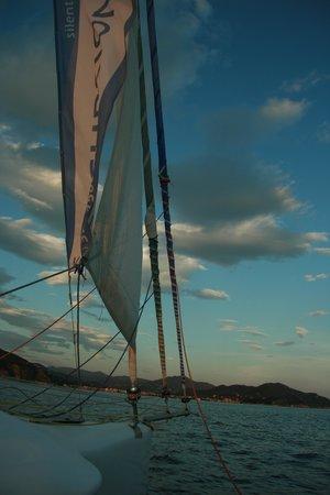 Silentbay Charter: Heading back
