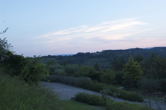 Borgo Villa Risi: View from our Apartments