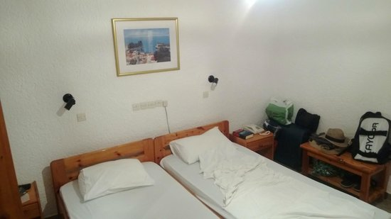 Votsalakia Hotel: Enough bed space