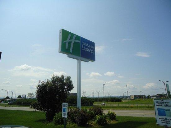 Holiday Inn Express Quebec City (Sainte-Foy) : Signe de confort