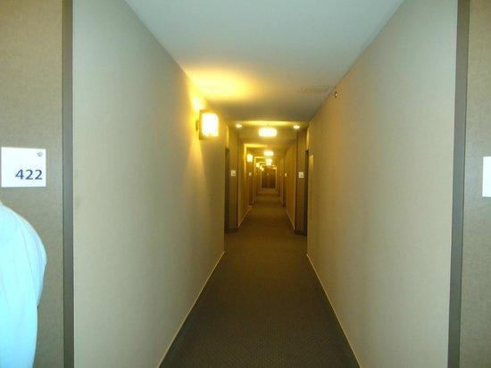 Holiday Inn Express Quebec City (Sainte-Foy) : Corridor bien éclairé