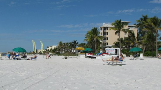 Sandpiper Gulf Resort: Strand