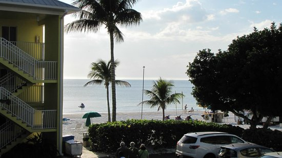 Sandpiper Gulf Resort: Blick aufs Meer