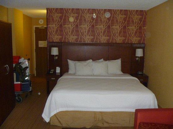 Courtyard Arlington Rosslyn : Kind Bed