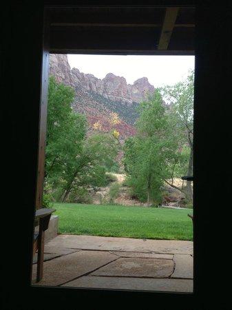 Desert Pearl Inn: view from room