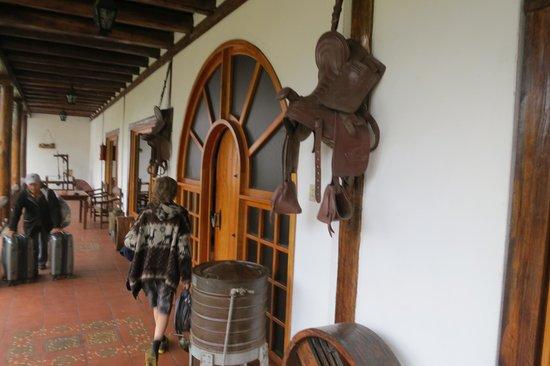 Hacienda Leito: The Lobby