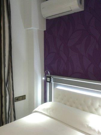Hotel Molinos: Decoración muy moderna