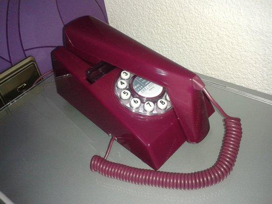Hotel Molinos: El teléfono muy fashion