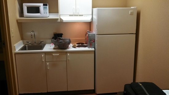 Extended Stay America - Newport News - Oyster Point: Noisy Fridge.