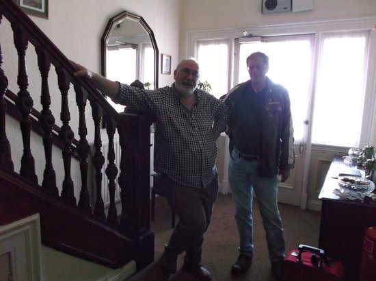 Anderson's Bed and Breakfast: The boss and myself
