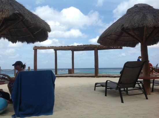 Playa Azul Golf, Scuba, Spa: View from loungechair