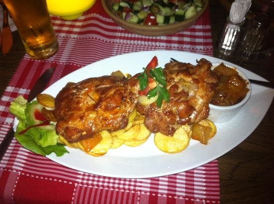 Fatal Etterem: pollo e patate