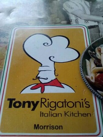 Tony Rigatoni's Italian Kitchen: Tony Rigatonis
