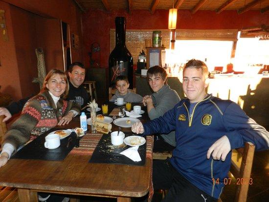 Hotel Pukarainca: desayunando en familia