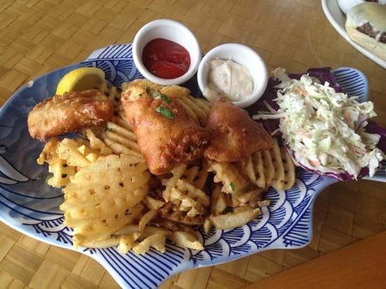 Beachside Bar-Cafe : Fish & Chips