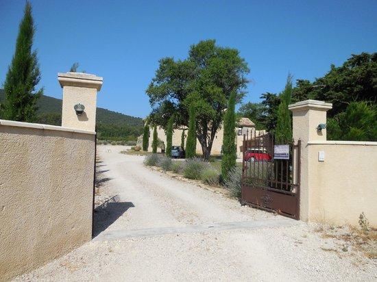 Mas de Longuefeuille : Entrance