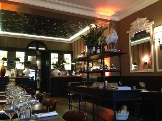 bistrot Raoul : décoration intérieure