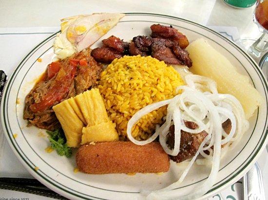Food at versailles restaurant miami picture of - Cfa versailles cuisine ...