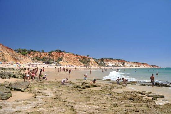 Plage de Falesia : View of the beach
