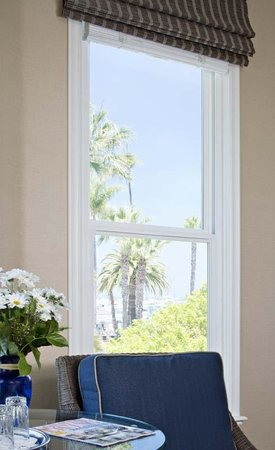 Snug Harbor Inn: Partial Ocean view from San Clemente