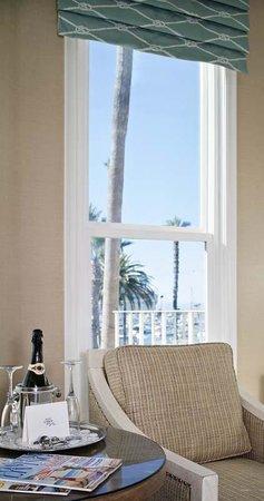 Snug Harbor Inn: Partial Ocean View from Santa Barbara Room