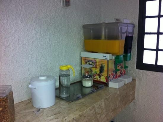 Campinas Residence Apart Hotel : café da manhã